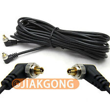 5M 16ft Male to Male PC Sync FLASH Cable w/ Screw Lock