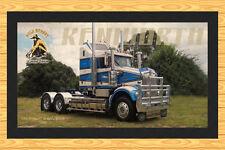 Kenworth Sar Model 'Gold Nugget' Truck Bar Runner Mat