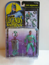 Legends Of Batman The Riddler With Firing Question Mark Launcher (Kenner 1995)
