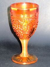 IMPERIAL GLASS - Ohio - VINTAGE - Marigold / Grape Design -