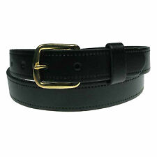 "MENS WOMENS 1"" REAL LEATHER 25MM FULL LEATHER BELT MADE IN ENGLAND SIZES 28""-44"""