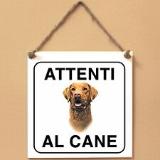 Chesapeake Bay Retriever 5 Attenti al cane Targa cane cartello