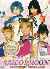 Sailor Moon Live Action Pretty Guardian (TV 1 - 49 End) DVD + Free Gift