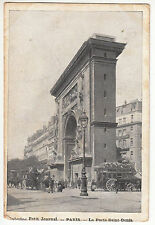 CARTE POSTALE PARIS PETIT JOURNAL LA PORTE SAINT DENIS