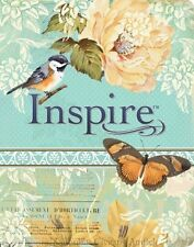 NLT Inspire Bible The Bible for Creative Journaling 9781496413734