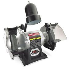 "Craftsman 1/6 hp 6"" Bench Grinder with Lamp (21124) / Bench"