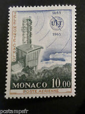 MONACO 1965, timbre AERIEN  84, AVION, UIT, neuf**, AIRMAIL MNH STAMP