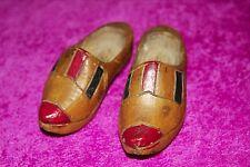 Pair of antique miniature clogs (1940s)