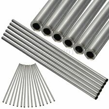 Stainless Seamless Steel Capillary Industry Tube 6mm(OD ) x 4mm(ID) Length 250mm