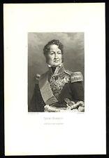 LOUIS-PHILIPPE I. schönes Portrait Stahlstich um 1840 - Original!