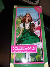 BARBIE DOLLS OF THE WORLD IRELAND NEW PINK LABEL