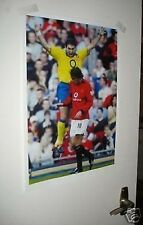 Arsenal Martin Keown At Old Trafford Going Crazy Poster