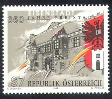 Austria 1998 Eisenstadt Town Hall/Coat-of-Arms/Buildings/Architecture 1v n38761