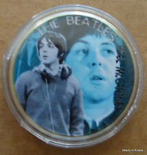 The Beatles Paul McCARTNEY  24KT GOLD MEMORABILIA COLLECTIBLE COIN  #28 SE