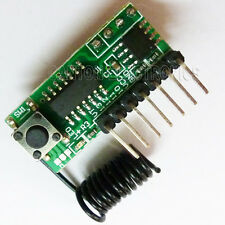Super Regenerative 315MHZ Fixed Code Decoder Receiver Wireless Modules