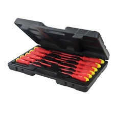 GAME DE 11 SCREWDRIVERS ISOLATED MANGO RUBBER COATING