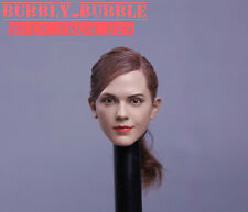 1/6 Emma Watson Head Sculpt Harry Potter Hermione Fit Hot Toys SHIP FROM USA