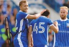 SHEFFIELD WEDNESDAY: ALMEN ABDI SIGNED 6x4 ACTION PHOTO+COA
