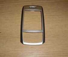 NUOVO ORIGINALE originale Samsung E250 ARGENTO FASCIA Anteriore Coperchio