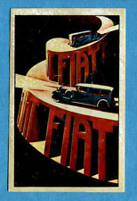 STORIA DELL'AUTOMOBILE Panini Figurina-Sticker n. 44 - FIAT -Rec