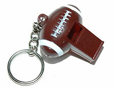 LARGE PLASTIC FOOTBALL WHISTLE KEY CHAIN (KC028)
