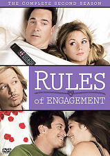 Rules of Engagement - The Complete Second Season 2 Two (DVD, 2008, 2-Disc Set)