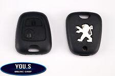 Peugeot 206 Ersatz 2 Tasten Funk Fernbedienung Schlüssel Gehäuse Hülle