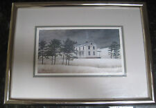 David Knowlton III Snow Squall Limited Edition Signed Lithograph 627/1000