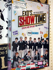 EXO ShowTime DVD (5 Disc Ep 1-12 + Extras) Taiwan Ed Set KPop/EXO'rDIUM Official