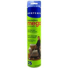 """Evercare Mega Cleaning Roller Refill 10"""" Sheets 25 ea (Pack of 6)"""