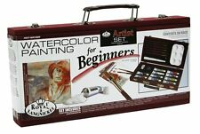 Royal and Langnickel Beginners Watercolour Painting Box Gift Set Beginners Guide