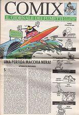 riviste fumetti- COMIX IL GIORNALE DEI FUMETTI Anno 1992 Numero 18
