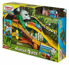 THOMAS & FRIENDS TAKE N PLAY JUNGLE QUEST 2-SIDED PLAYSET W/ THOMAS *NEW*