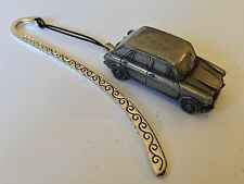 Wolseley 1300 (BMC) ref307 FULL CAR on a Pattern bookmark with cord