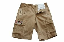 Ralph Lauren Denim and Supply Slim Fit Army Cargo Shorts in Size 30 in Brown
