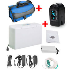 Upgraded Portable Oxygen Concentrator Generator Home/Car/Travel + Pulse Oximeter