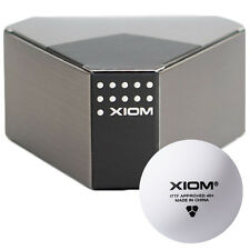 Xiom ITTF Approved 40+ Seamless Ping Pong Ball Table Tennis Balls 3Pcs