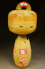 kissako 3764 Japanese Antique Wooden Doll Kimono Kokeshi Vintage Figure