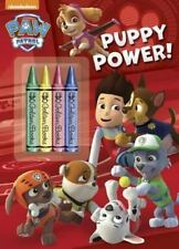 Color Plus Chunky Crayons: Puppy Power! (Paw Patrol) by Golden Books Staff...