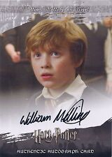 HARRY POTTER Order of the Phoenix Autograph Card - William Melling as Nigel
