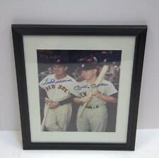 Ted Williams & Mickey Mantle Autograph Lot 85J