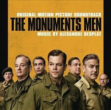 THE MONUMENTS MEN CD - ORIGINAL MOTION PICTURE SOUNDTRACK (2014) - NEW UNOPENED