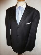 MENS ERMENEGILDO ZEGNA TROFEO BLACK WOOL FALL SUIT JACKET 42 WAIST 36 LEG 32.5