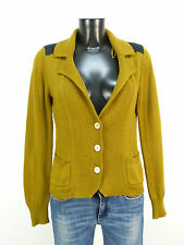JUST B  STRICKJACKE GR 40 / BRAUN & MODERN     ( L 7694 )