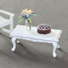 Vintage Mini Coffee Tea Table Doll House Living Room Miniature Furniture Decor