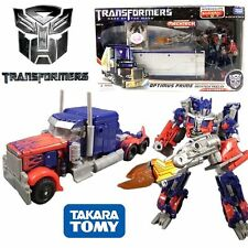 TRANSFORMERS DOTM DA-03 OPTIMUS PRIME MECHTECH TRAILER ACTION FIGURES TRUCK TOY