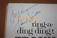 "FRANK SINATRA SIGNED ""Ring-a-Ding-Ding!"" LP JACKET Autograph WOW! RARE!"