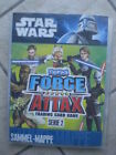 Star Wars Topps Force Attax Sammelmappe mit allen Karten 1-240 + LE1 Album