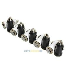 10PCS USB DC Car Travel Charger Adapter for iPhone 5 4S 4 3GS 3G iPod iPad LS4G