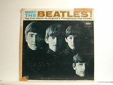 The Beatles - Meet The Beatles, Capitol T-2047, 1964 Mono LP